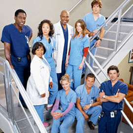 Greys hvide verden originalt cast