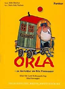 Orla Frøsnapper lydbog, Ole Lund Kirkegaard