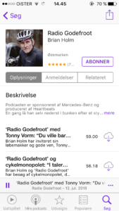 Radio Godefroot Cykel Podcast
