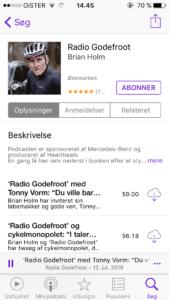 Radio Godefroot Cykel Podcast