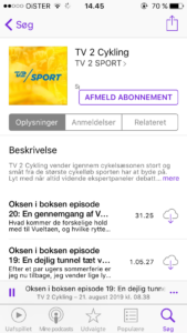 TV2 Cykling podcast