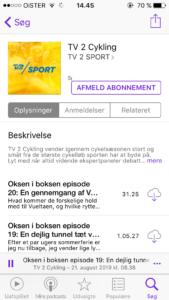 TV2 Cykling podcast