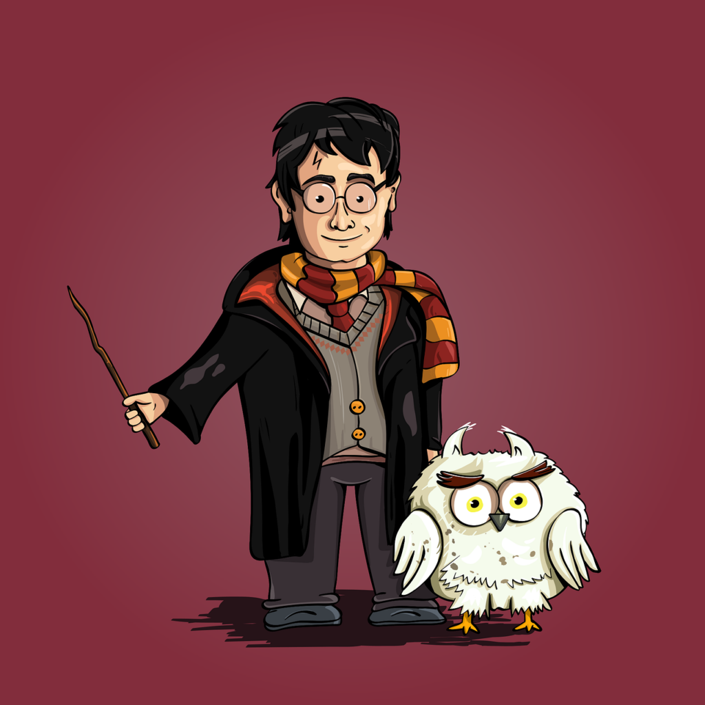 Harry Potter Audio Book fan art