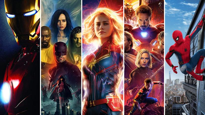 Marvel filmhelte disney plus